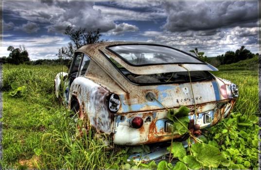 automobile-épave