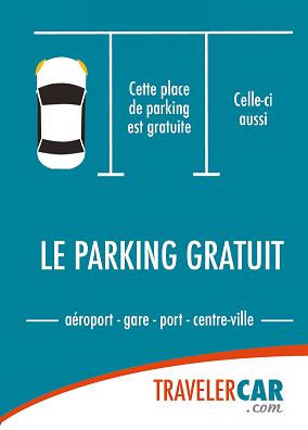TravelerCar, le bon plan parking et location de voiture pour votre séjour !